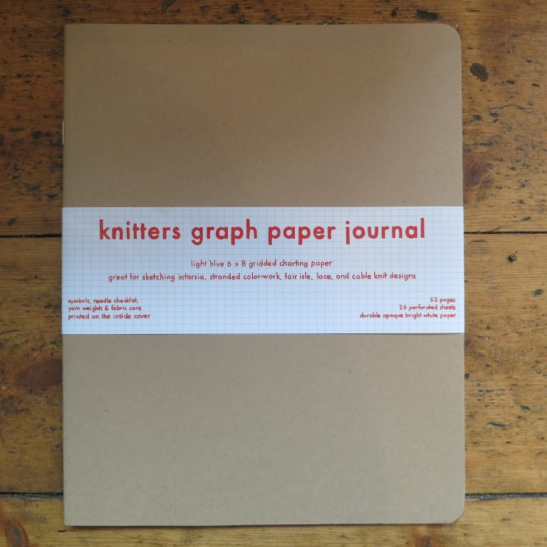 Knitting Graph Paper Uk : Knitters graph paper journal wild and woolly