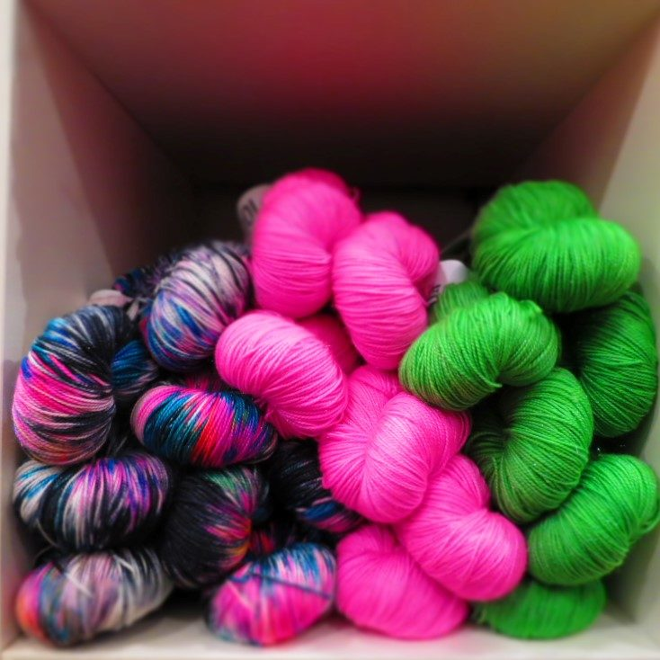 The Wool Kitchen 4ply Sock with Sparkles
