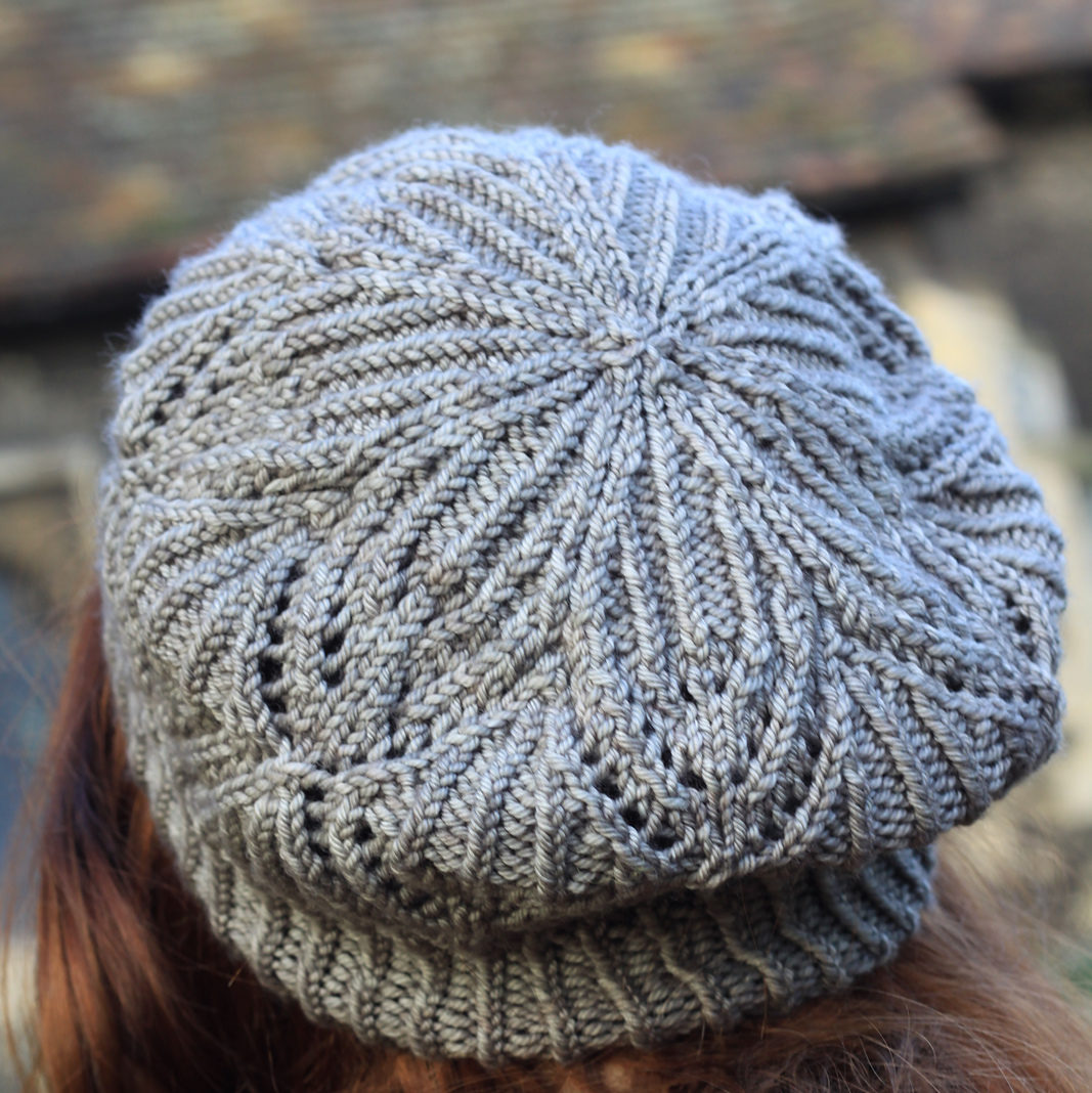 Knitting Stitches Pm : Learn to knit the Lucy Lightfoot Lace Beret - Wild and Woolly