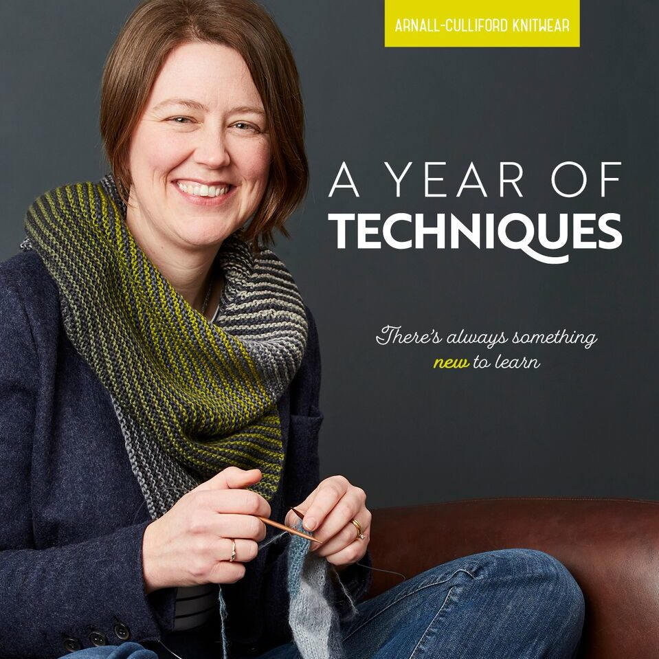 A Year of Techniques by Jen Arnall-Culliford