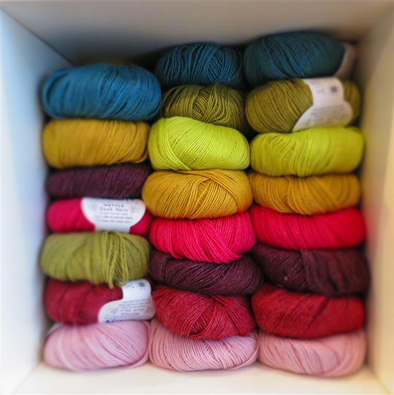 Nettle Sock Yarn
