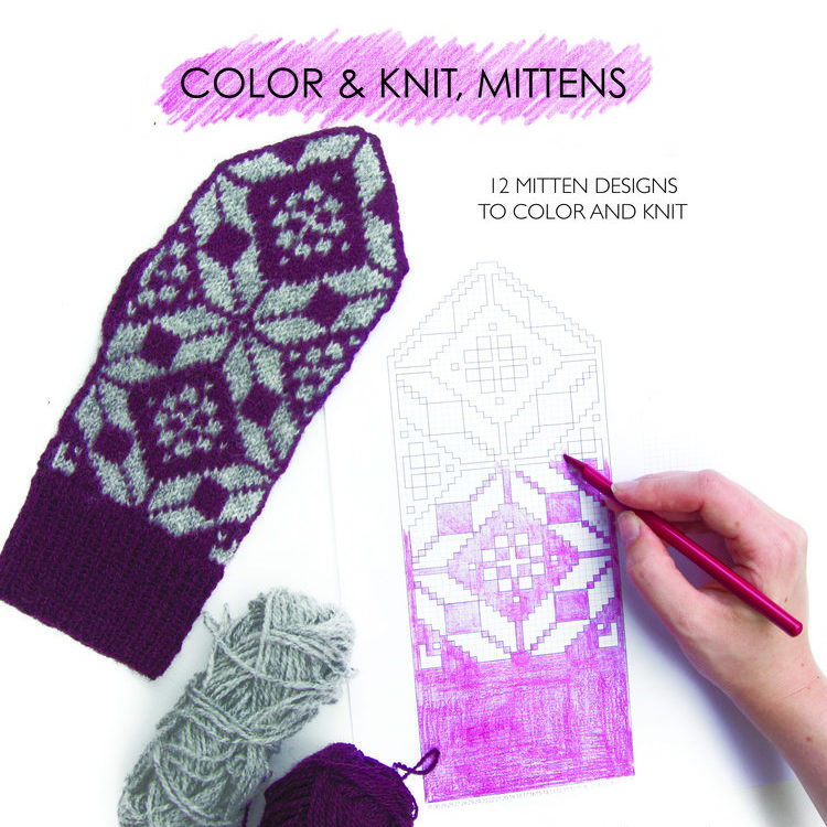 Colour and Knit, Mittens by Aleks Byrd