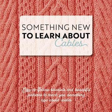 Something New to Learn About Cables by Jen Arnall-Culliford