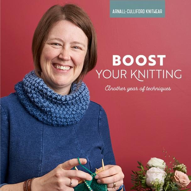 Boost Your Knitting: Another Year of Techniques by Jen Arnall-Culliford